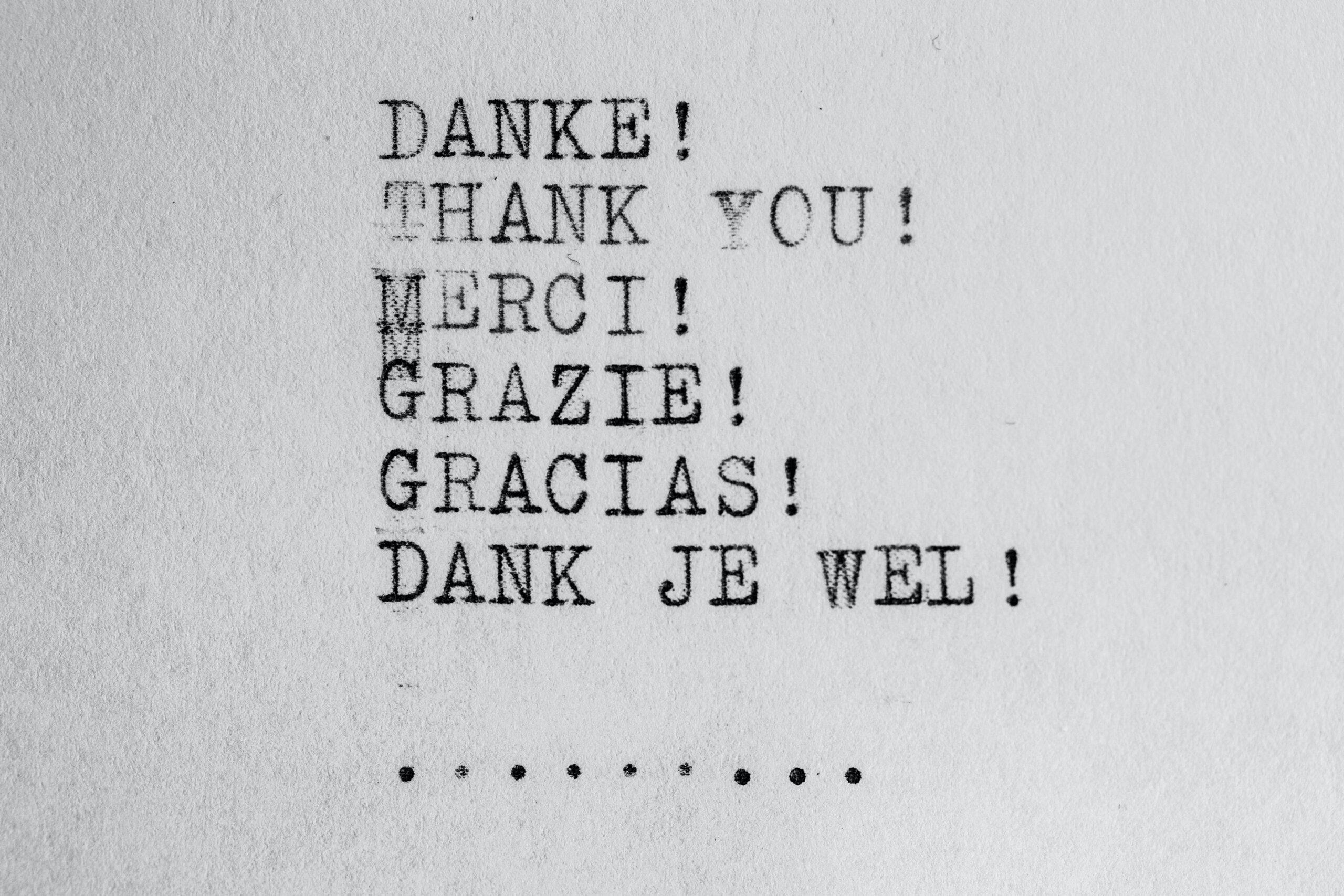 Nanagement bedankt voor uw bericht